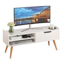 Layar Painel Madeira untuk Modern Soporte De Pie Riser Nordic Kayu Mueble Meja Monitor Stand Perabot Ruang Keluarga TV Cabinet