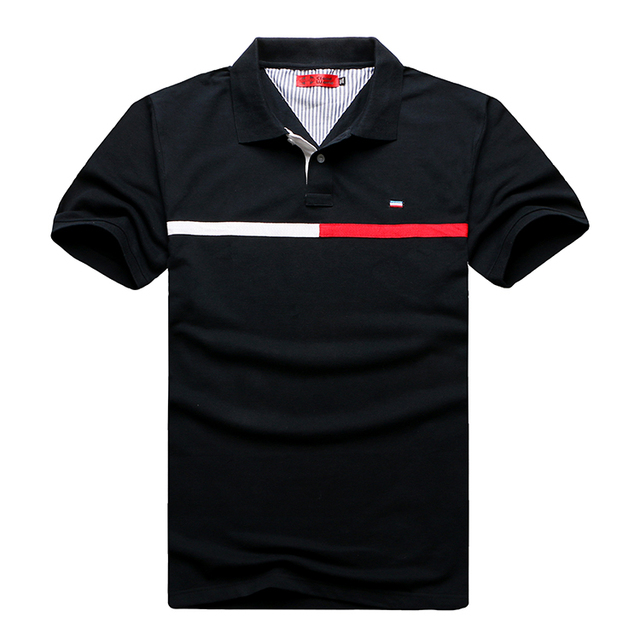 XXL-8XL Plus Size T**my Brand Clothing Black Polo Shirt Men Cotton Fitness Classic Brand Polo Men (XXL XXXL 4XL 5XL 6XL 7XL 8XL)