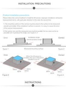 Image 5 - Witmotion sindt デュアル軸 ahrs 高精度角度傾斜スイッチ、デジタル出力、 IP67 防水、防振