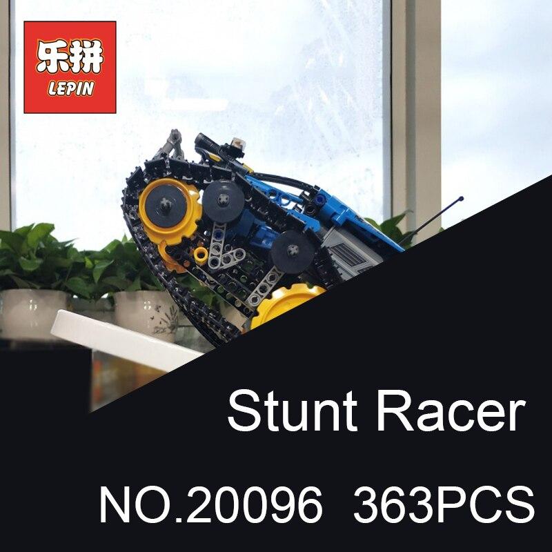 Lepin 20096 Technique Télécommandé Stunt Racer le char radiocommandé Suivis Racer Modèle blocs de construction Compatible 42095 Jouet Enfants Cadeau