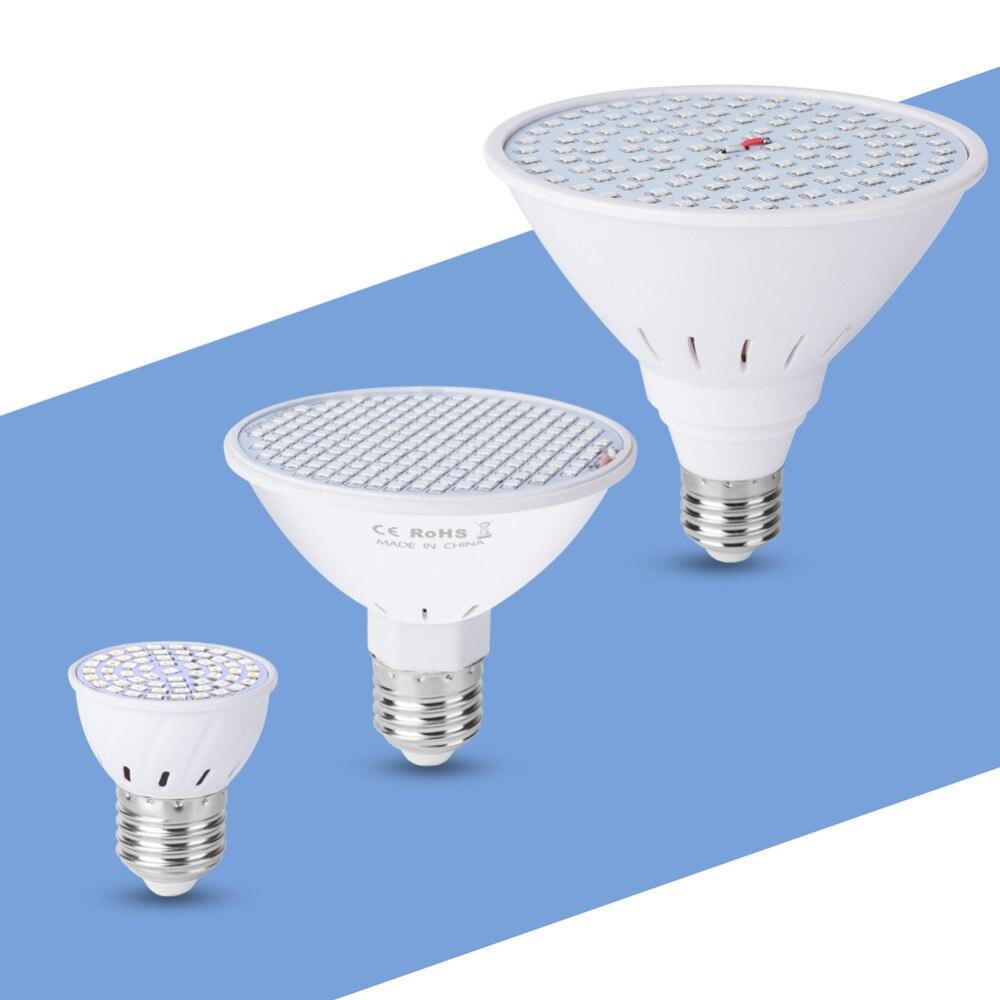 Indoor Phyto Lamp E27 Led Grow Light 220v Led Bulb Seedling Full Spectrum Led Fitolamp Uv Ir 6w 15w 20w For Garden Hydroponics
