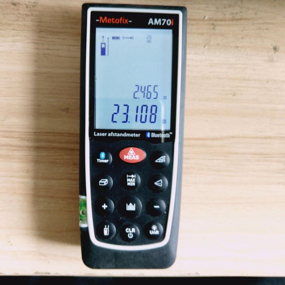 Здесь продается  NEW Metobox AM70I LASER MEASURE 70M handheld rangefinder with Bluetooth  Инструменты