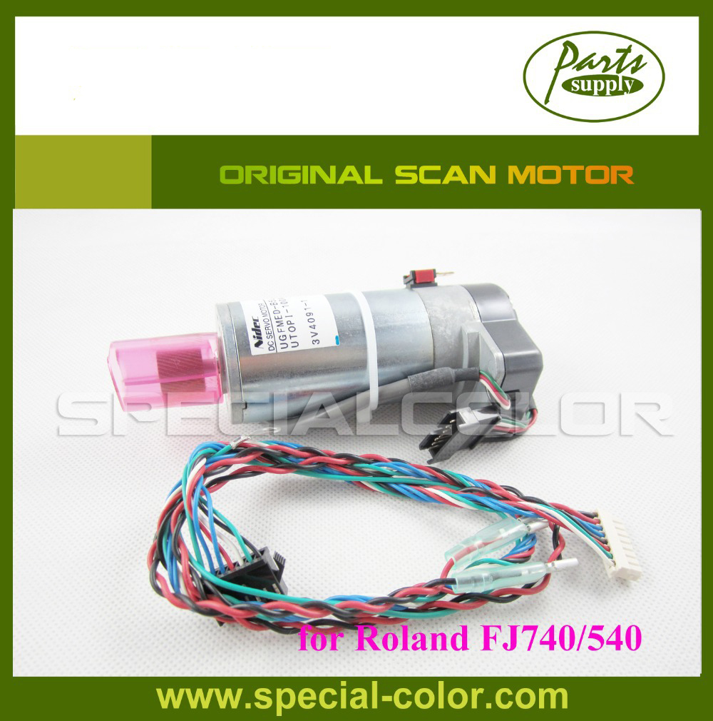 Scan motor roland FJ740/540 for printer original roland scan servo y motor for sj 1045ex printer parts roland sj 1045ex sj 1000 roland xc 540 xc 540w roland xj 640