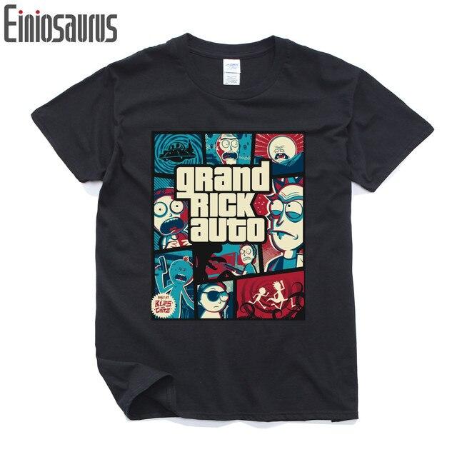 Rick and morty T-shirt Summer Rick and Morty T Shirt 2016 Fashion Casual Men t-shirt Loose Short Sleeve Tops Tees XS-XXL
