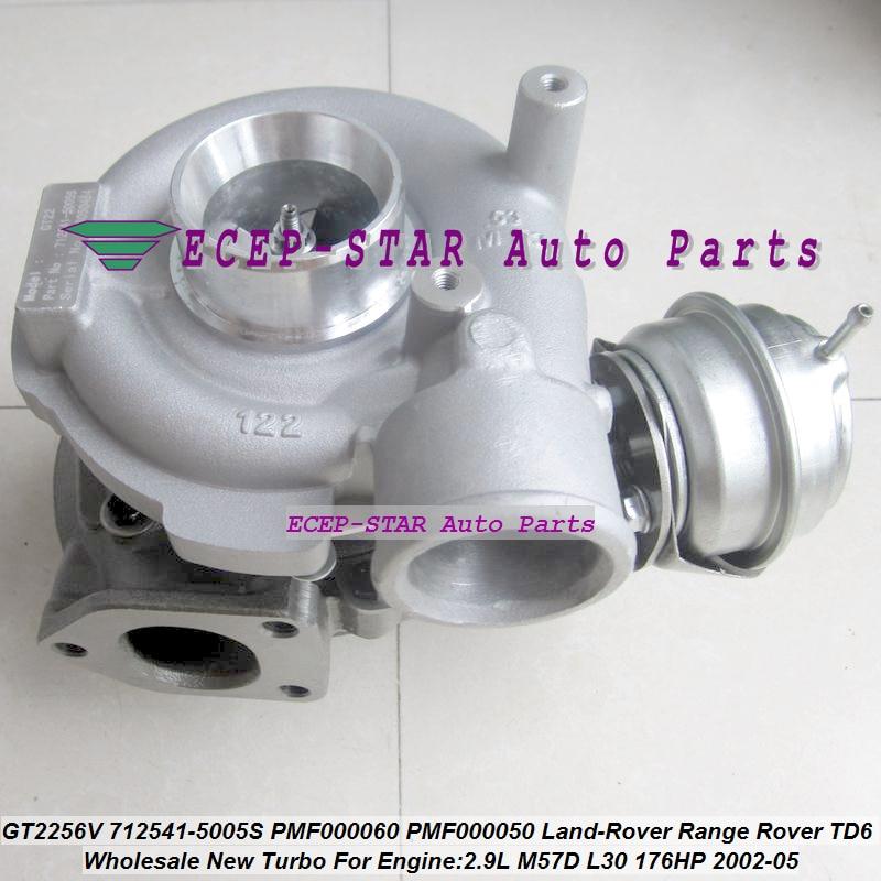 Турбо GT2256V 712541-5006S 712541-5005S 712541 LR006110 Турбокомпрессор Для Land-Rover Range Rover TD6 2002-05 M57D L30 LL 2.9L TDI