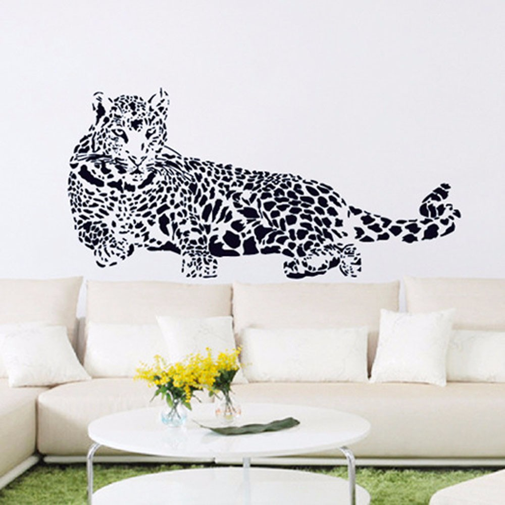 online buy wholesale huge wall murals from china huge wall murals huge cheetah leopard jaguar cat wall mural vinyl decal
