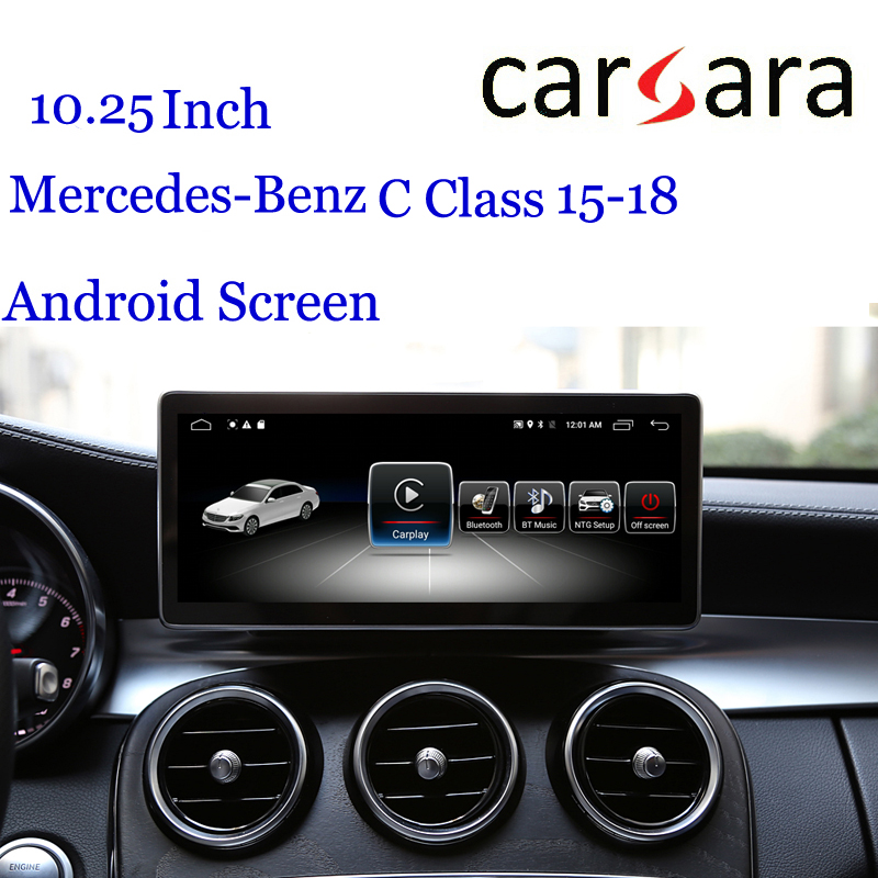 Android Headunit for Merce des Ben z  C GLC 15-18 Auto Radio Car Video Audio Infotainment Interface Vehicle DVD Player GPS Navi
