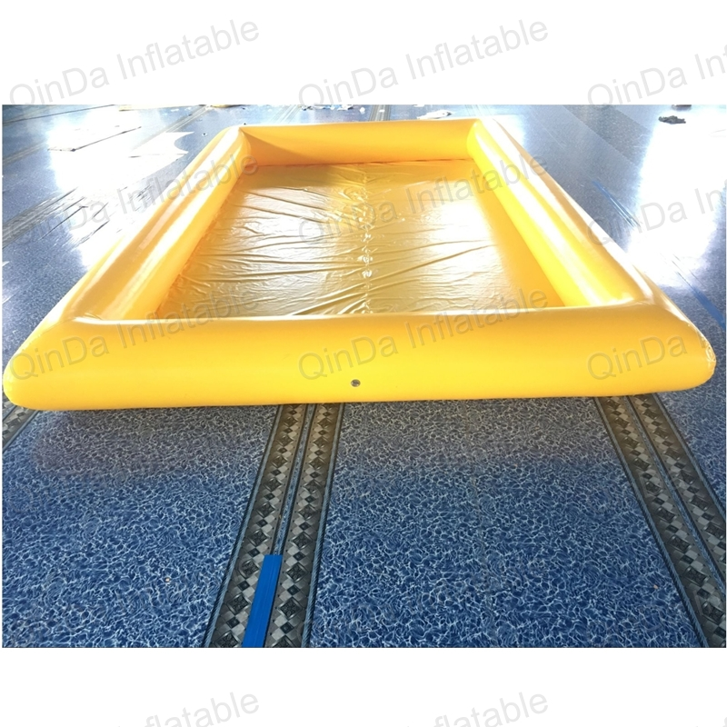 Huge deep adult size inflatable pool PVC inflatable square swimming pool for sale commercial inflatable pool rental water ball