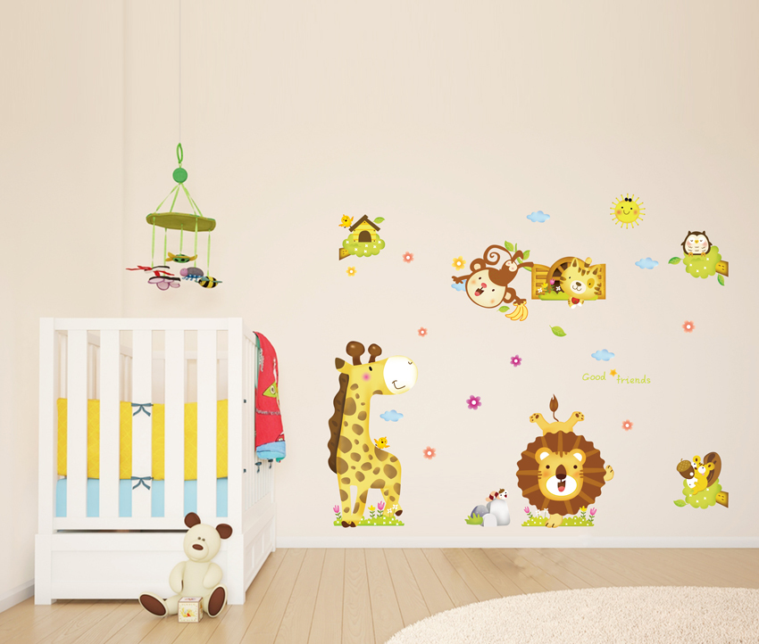 Popular Stickers LionBuy Cheap Stickers Lion Lots From China - Lion king nursery wall decals