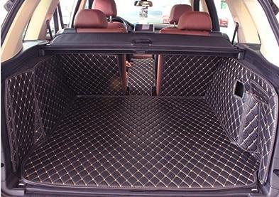 ¡Buena alfombras! Conjunto completo de maletero de coche esteras para BMW X5 F15 2017-2013 5 asientos durable de alfombras de forro para x5 2016 envío Gratis