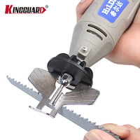 KINGGUARD Saw Sharpening Attachment Sharpener Guide Drill Adapter For Dremel Drill Rotary Accessories