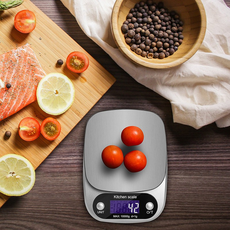 5000g/1g 5kg Portable Food Diet Postal Kitchen Scales Balance Measuring Weighing Scales Led Electronic Scales Home & Garden