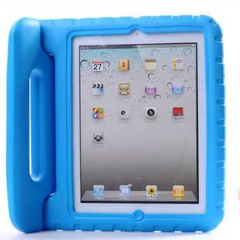 Case for ipad 2 3 4 hand-held portable Shock Proof EVA full body cover Handle stand Kids Safe Silicone para shell coque housing