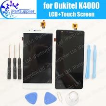 Oukitel K4000 ЖК-дисплей Дисплей + Сенсорный экран сборка 100% оригинал ЖК-дисплей планшета Стекло Панель Замена для Oukitel K4000 телефон + инструмент