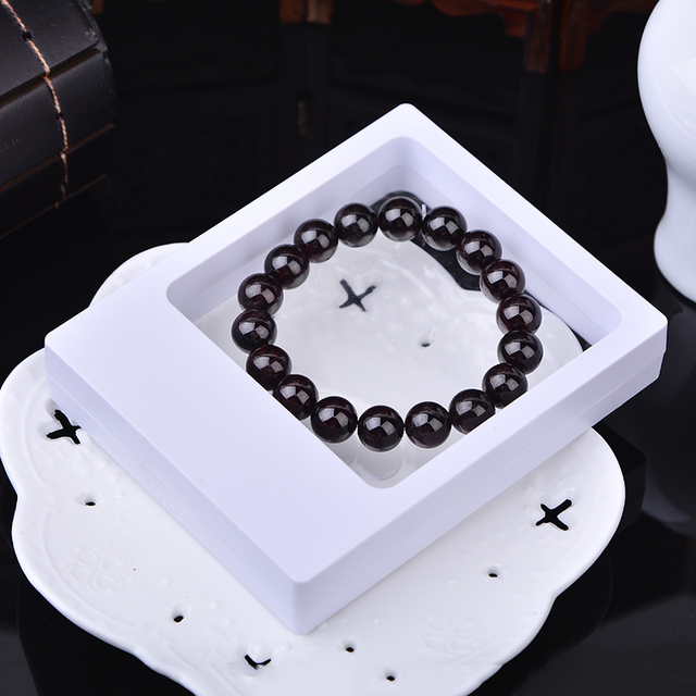 Portable Jewelry Display Box Casket Jewellry Packaging Box Organizer