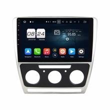 Octa Core 1 din 10.1″ Android 6.0 Car Audio DVD GPS for Skoda Octavia 2011-2014 With 2GB RAM Radio Bluetooth WIFI USB 32GB ROM