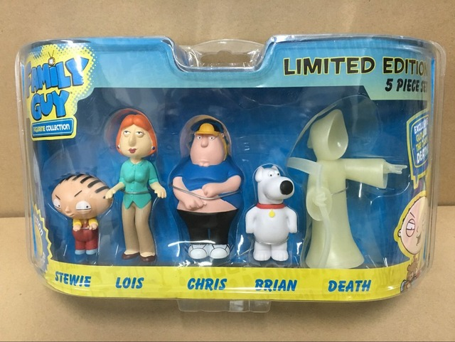 Family Guy Toys Toywiz : Pcs family guy figurine collection limited edition