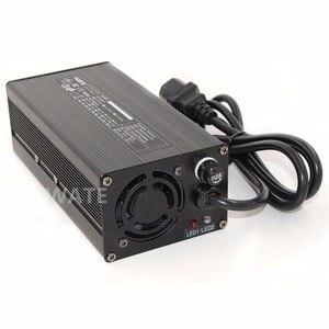 Зарядное устройство 84V 4A 20S 72V E-Bike, литий-ионный аккумулятор, умное зарядное устройство Lipo/LiMn2O4/LiCoO2, зарядное устройство с вентилятором, алюминиевый корпус