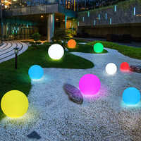 Rechargeable LED Swimming Pool Floating Ball Lamp Waterproof Outdoor Home Wedding Garden KTV Bar Holiday Party Decoration