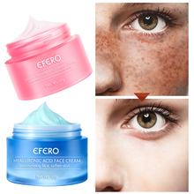 Removal Freckle Cream Anti Aging Pigment Acne Spot Face Wrinkle Hyaluronic Acid Skin Whitening Repair Day