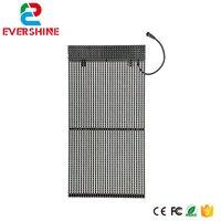 Barato Pantalla de rejilla LED 15 625mm DIP346 al aire libre a todo Color cortina LED tira