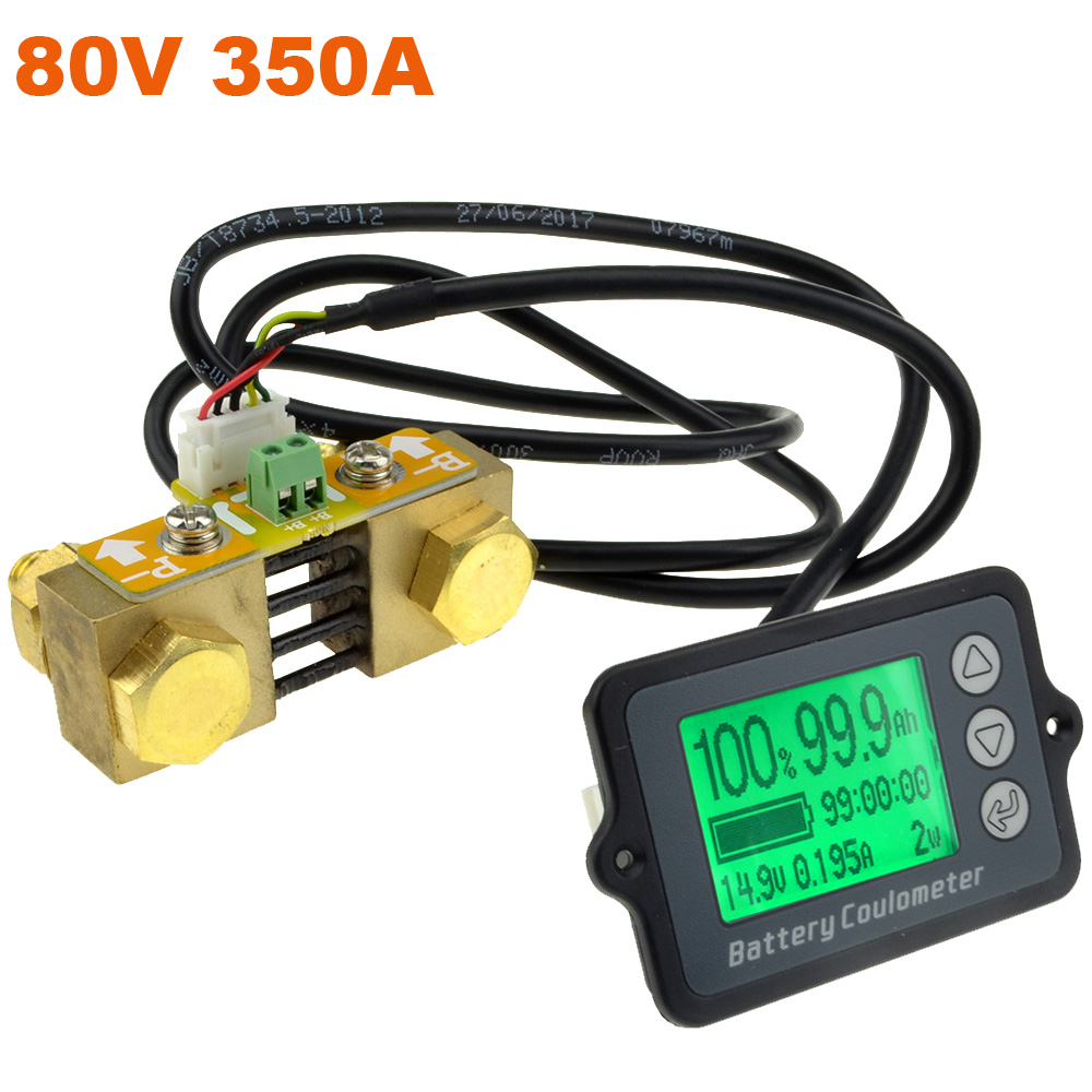 80V 350A New TK15 Professional Precision Battery Tester for LiFePO Coulomb Counter Free Shipping 12003196