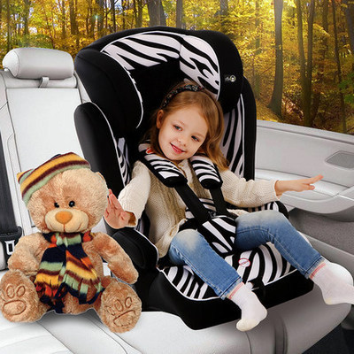 Healthy Harmless Tasteless Portable Sit Lie Adjustable Child Safety Seat Chair For 9 Month - 12 Years Old Baby Use