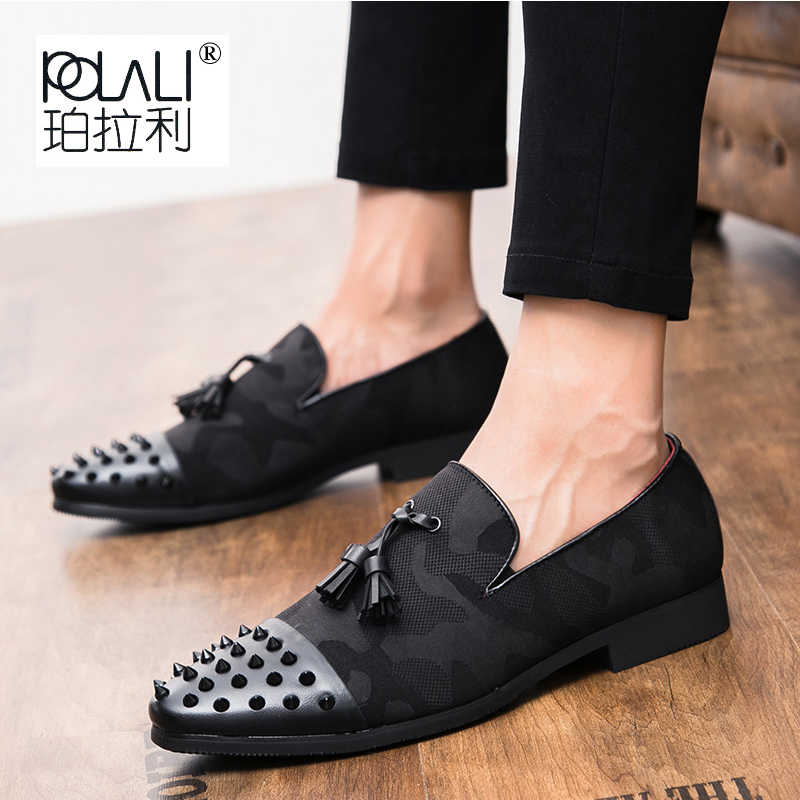 3951059648f Detail Feedback Questions about Cajacky Men Red Loafers Wolf ...