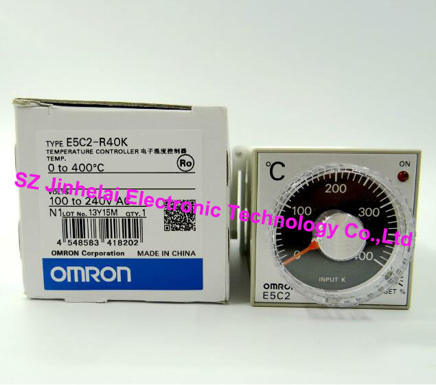 100% New and original E5C2-R40K OMRON AC100-240V Temperature controller