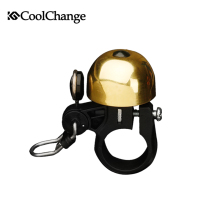 CoolChange Mountain bike bicycle horns, bicycle bells, copper material, vintage design, Bicycle accessories