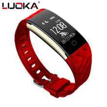 LUOKA S2 sport Smart Band Heart Rate Monitor IP67 Waterproof Bluetooth For iphone Android