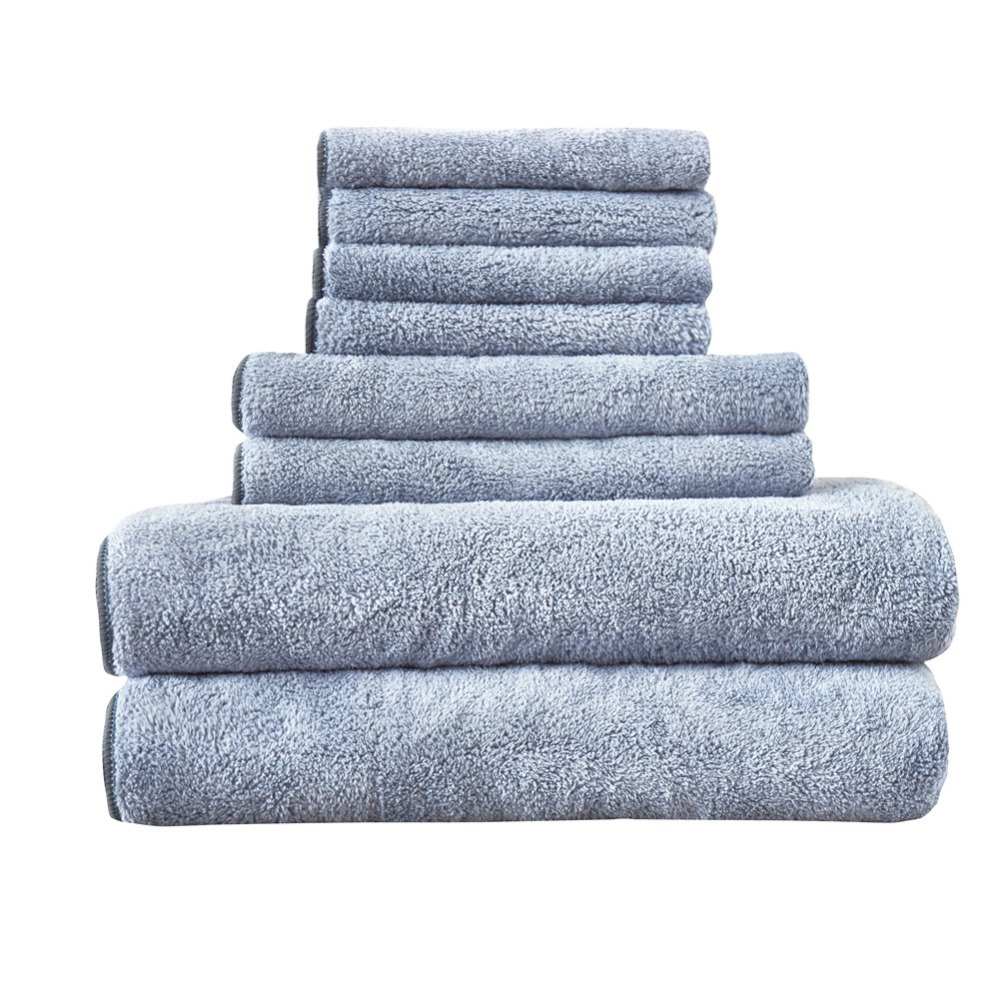 Fast Drying Extra Large Bath Towel Set, Decorative