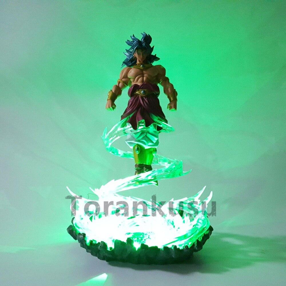 Figuras de Ação e Toy dragon ball z scultures broly Fantoches : Modelo