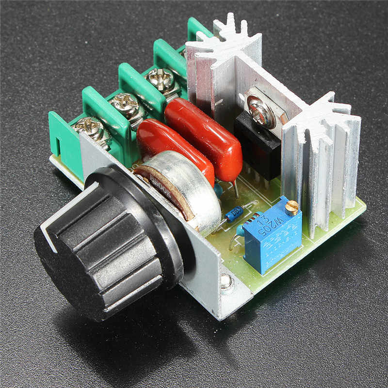 Led Control Dimmers Electronic Switch 220V 2000W Speed Controller SCR Voltage Regulator Temperature Thermostat For Lamp