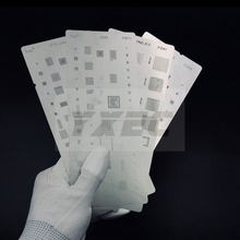 цена на high quality BGA Reballing Stencil dedicate kit for iPhone 4/5/SE/6/7/8/X /XS/XR /XSmax for iPad  BGA reballing repairing