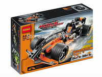 2015 New Hot Sale Decool 3413 Warrior Black Champion Racer Pull Back Technic Car Building Block