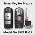 Car Smart Remote Ключ для MAZDA 2 3 5 6 M2 M3 M5 M6 Axela Premacy Demio Atenza (подходит Mitsubishi SKE13E-01)