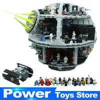 2017 New Lepin 05063 4016pcs Force Waken UCS Death Star Educational Building Blocks Bricks Toys Compatible
