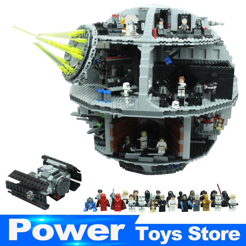 2017 New Lepin 05063 4016pcs Force Waken UCS Death Star Educational Building Blocks Bricks Toys Compatible legoed lepin 05035 star wars death star limited edition model building kit millenniums blocks puzzle compatible legoed 75159