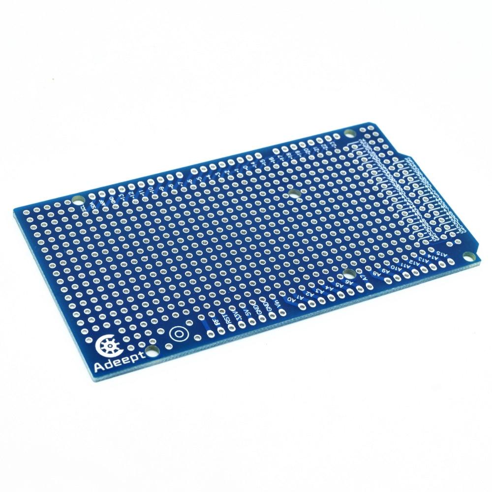 Adeept 10PCS DIY Board Prototype PCB para Arduino Mega 2560 R3 Shield - Electrónica inteligente