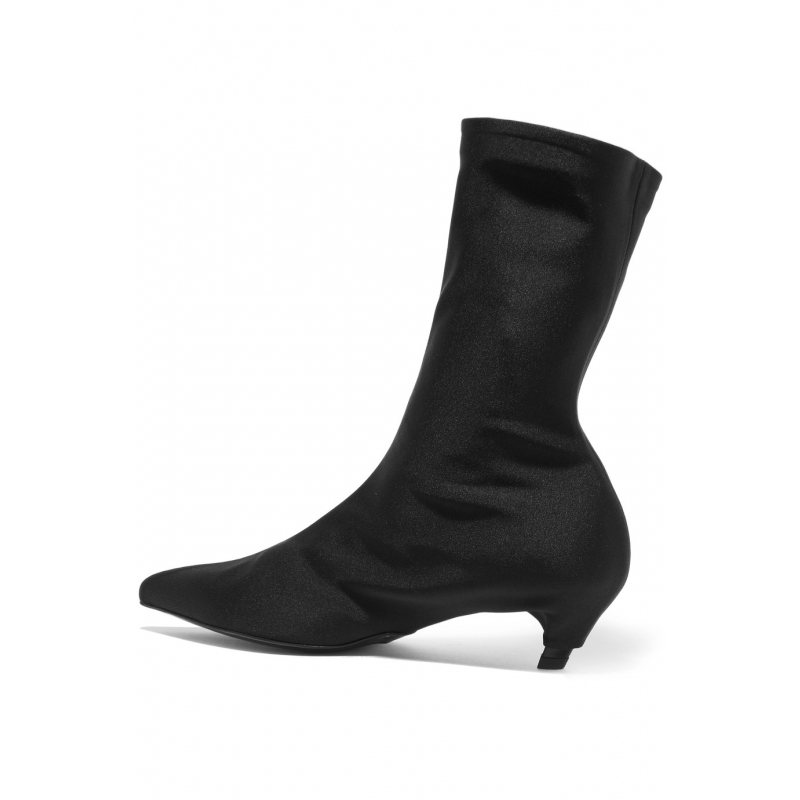 5f49243cc3a5 Aliexpress.com   Buy Bota Feminina Black Stretch Fabric Ankle .