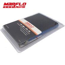 MARFLO 10pcs Car Wash Magic Clay Bar Mitt Car Clay Cloth Auto Care Cleaning Towel  Microfiber Sponge Pad Clay Cloth Detailing