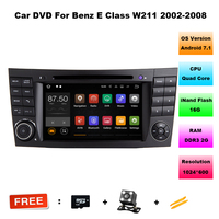 Quad Core Android 7 1 1 Car Audio FOR BENZ E CLASS W211 Car Dvd Player