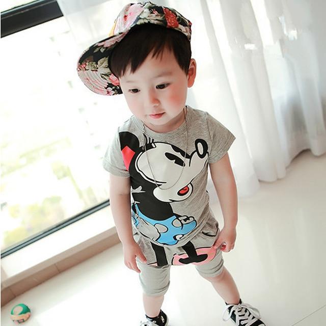 01ea3b4e52e3 Kids boys set Korean baby clothes 2015 new 1 2 3 4 5 year old boy ...