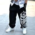 2016 Llegada de Nuevo Mens Pantalones Harem Hip Hop Pantalones Nueva Moda de alta Calidad Para Hombre Trajes de Danza Más El Tamaño de Ropa Para Hombres de La Venta Caliente