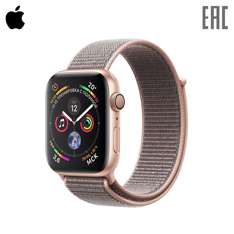 Smart Watch Apple Watch S4, 40 mm Sport Loop 0-0-12 smart watch apple watch series 3 gps 42 mm sport band