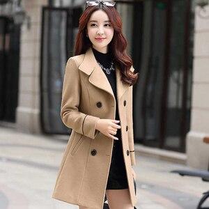Fashion Winter Coat Women Long