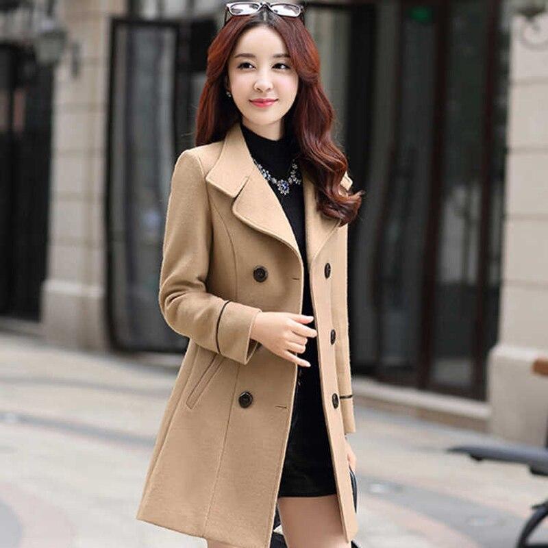 Fashion Winter Coat Women Long   Trench   Coat For Women Plus Size Casaco Clothes 2019 sobretudo feminino