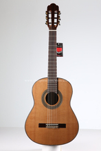 Freeshipping 36 inch Handmade Spanish guitar,SOLID Cedar /Rosewood Acoustic guitarras,Classical guitar with Nylon string 580MM