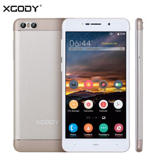 XGODY S10 5.2 Inch 3G Mobile Phone MTK MT6580 Quad Core 1GB RAM 8GB ROM 1280*720 IPS 2 Back Camera Smartphone Android 5.1 Unlock